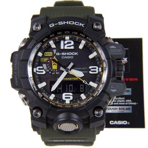 G Shock Protrek Black Angka casio g shock mudmaster gwg 1000 1a3
