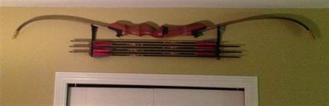 Recurve Bow Wall Rack by Bow And Arrow Rack All
