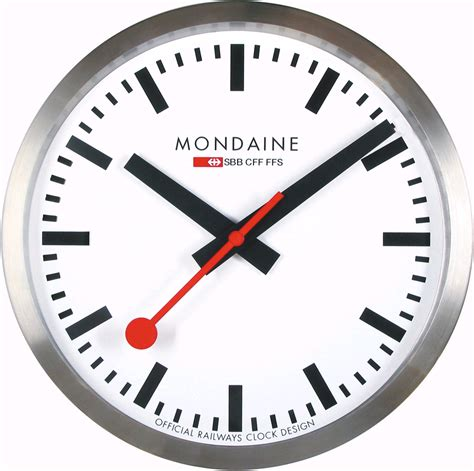 Mondaine Wall Clock | mondaine a990 clock 16sbb clocks clock wall clock 25 cm