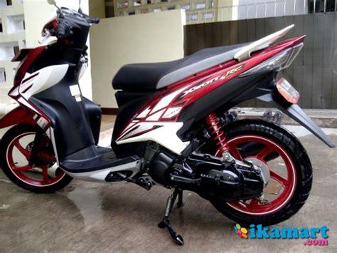 Yamaha Xeon Rc 125 Putih Th 2015 yamaha xeon rc 125cc th 2013 merah putih motor