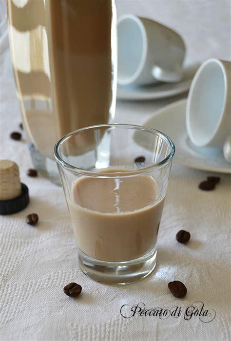 liquore alla crema di caff 232 fatto in casa