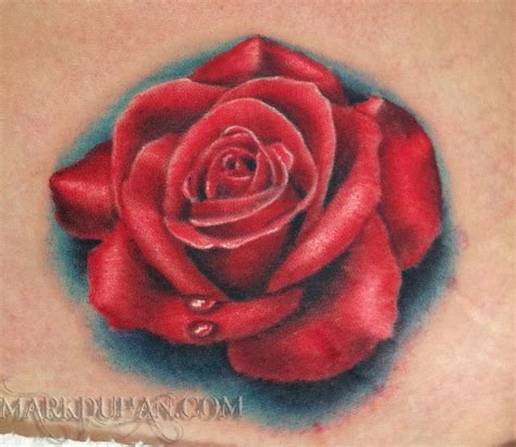 red rose tattoos images designs