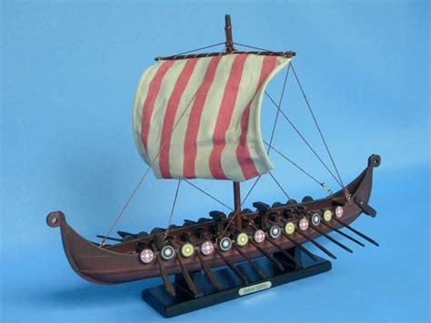 Wholesale Unique Home Decor by Buy Wooden Viking Drakkar Model Boat 14 Inch Wholesale
