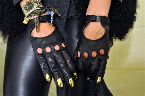 2 Die 4 Dominic Jones Gold Nails Gloves by Firenze4ever Day The Salad