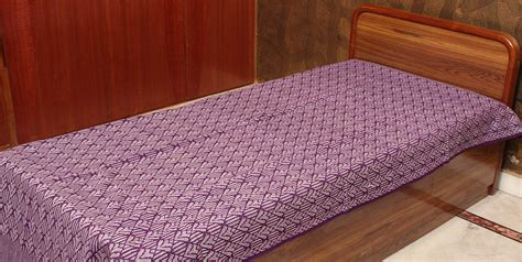 single bed coverlets purple single bed bedspread from coimbatore