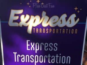 disney's express transportation option