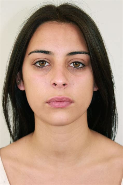 Eyeshadow Free model without makeup before our makeup free model models and makeup
