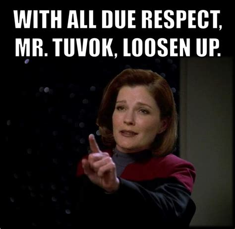 Star Trek Voyager Meme - 1000 images about star trek captain janeway quotes as