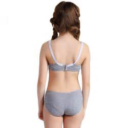 soccer picture detailed picture wofee puberty girls lace dot cotton underwear
