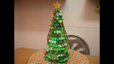 como hacer arbolitos de navidad como hacer arbol de navidad con goma