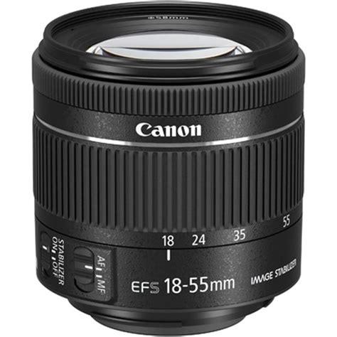 Lensa Standar 18 55mm Canon canon ef s 18 55mm f 4 5 6 is stm standard zoom lens