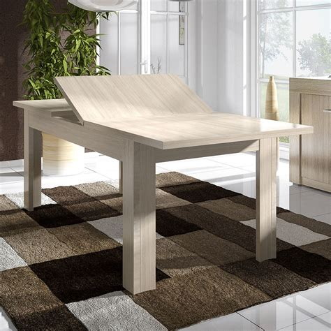 table de salle a manger contemporaine avec rallonge