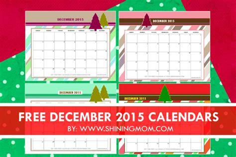 printable calendar 2015 christmas december 2015 calendars christmas themed designs