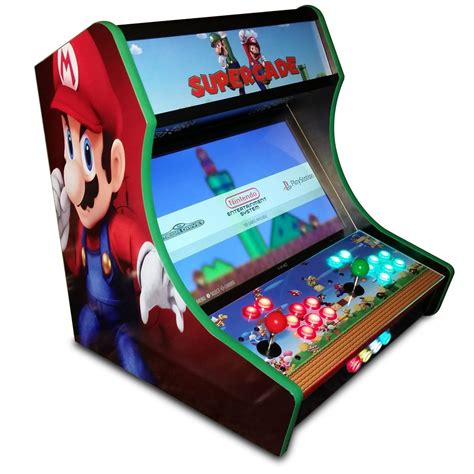 bar top video game mini arcade fliperama bartop medidas e corte cnc projeto