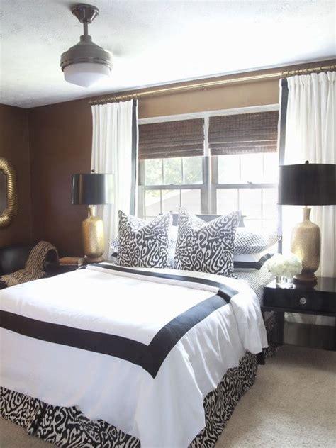 master bedroom bed  front  window design pictures