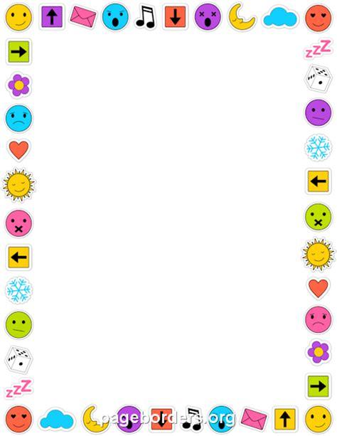 Emoji Wallpaper Border | emoji border diy and crafts pinterest emoji border