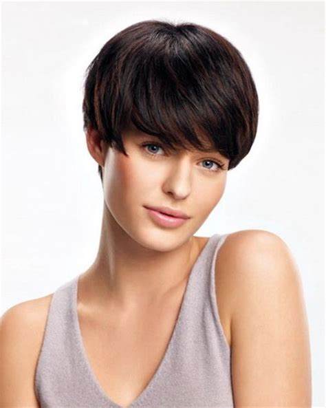 haircuts for straight dark hair hairstyles for short straight hair short hairstyles 2017