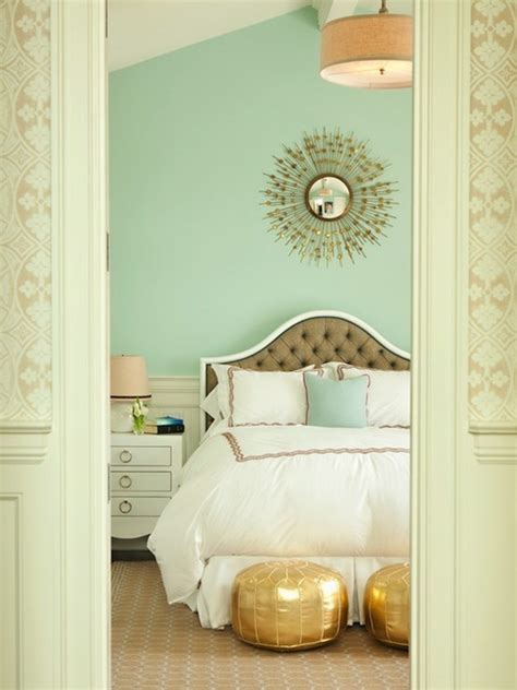 seafoam green bedroom seafoam green paired with gold adds a soft yet exotic