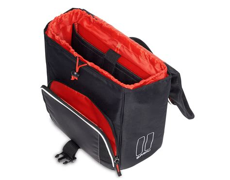 basil sport design commuter office bag everything you need rose bikes