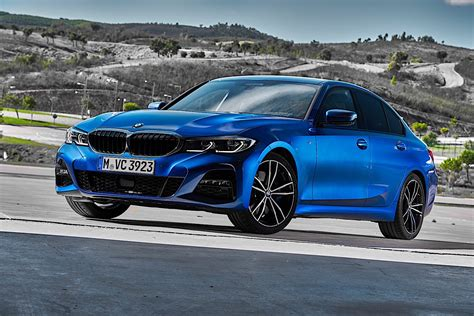 Bmw New 3 Series 2020 by 2020 Bmw 3 Series Turns White And Blue In Brand New Photo
