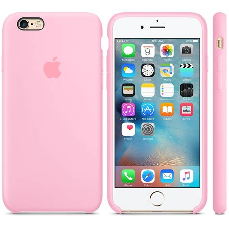 Hp Iphone 6 Pink apple iphone 6 6s silicone light pink recta tech