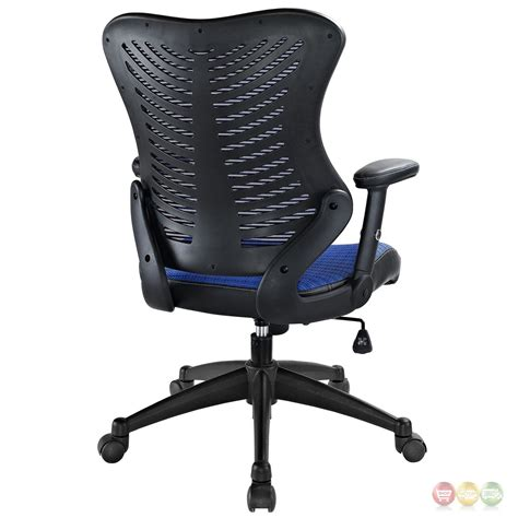 mesh back office chair with lumbar support clutch modern office chair with ergonomic mesh back