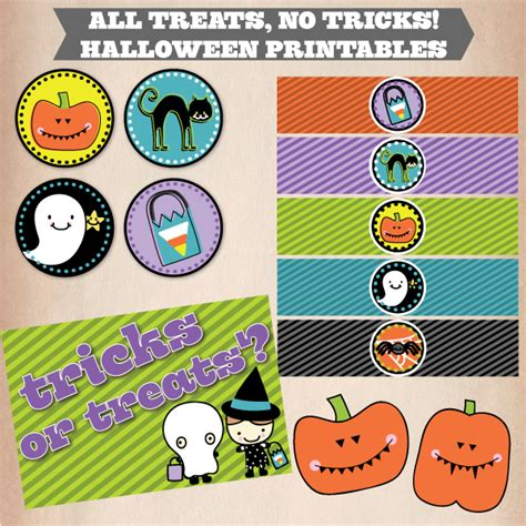 No Tricks All Treats by The Shopperie By Lly Designs All Treats No Tricks