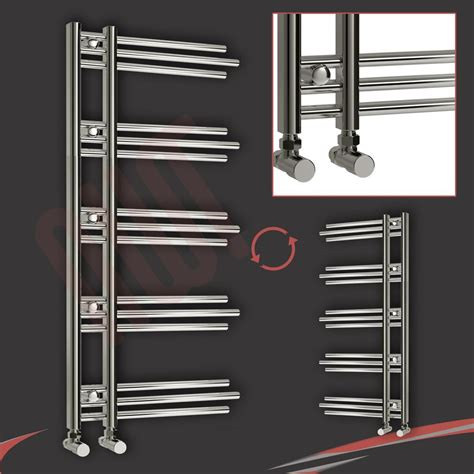 bathroom electric towel rail heaters huge sale designer heated towel rails warmers bathroom radiators chrome white ebay