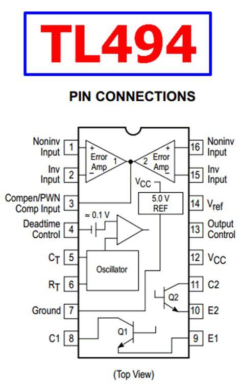 tl datasheet pwm control circuit motorola