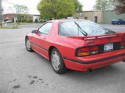 repair anti lock braking 1988 mazda rx 7 electronic throttle control purchase used 1988 mazda rx 7 turbo coupe 2 door 1 3l in fairport new york united states for