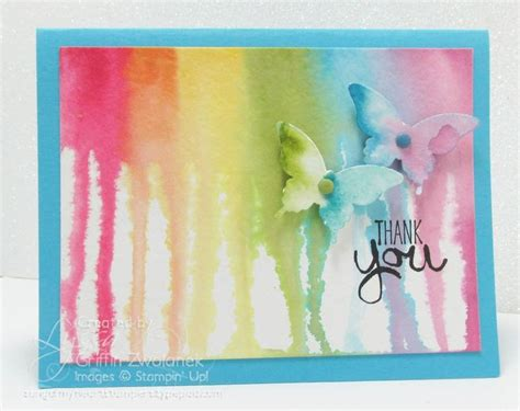 watercolor drip tutorial 177 best cards with rainbows images on pinterest