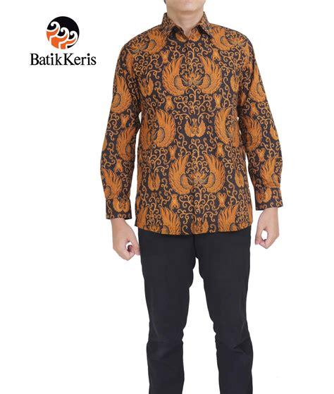 Celana Batik Keris kemeja batik formal lengan panjang motif gurdo lung asmoro batik keris