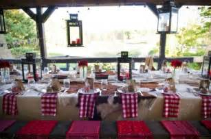 country style table decorations backyard rehearsal dinner ideas rustic wedding chic