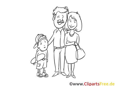 familie bild schwarz weiss zum malen kostenlos