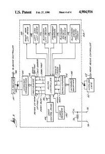 patent us4904916 electrical system for stairway wheelchair lift patents