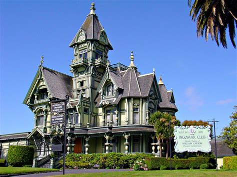 Queen Anne House Plans Historic Carson Mansion A Photo On Flickriver
