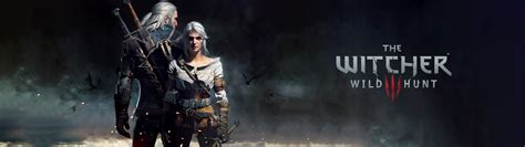 3840x1080 wallpaper video game the witcher 3 wild hunt video games multiple display