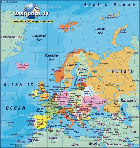 atlas europe map map of europe map of the world political map in the
