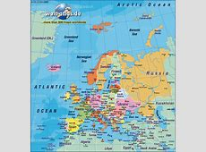 Map of Europe, map of the world political (General Map ... Lighthouse Büsum