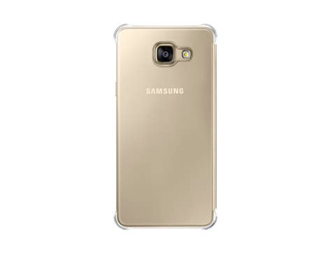 Clear Samsung A5 2016 samsung galaxy a5 2016 clear view cover mobile cover