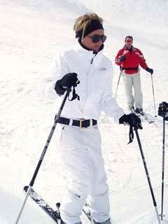 Posh Hits The Slopes by News All The Showbiz Gossip From Now