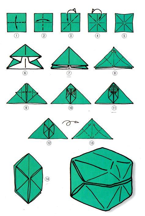 En Origami - cube en origami papier atlub