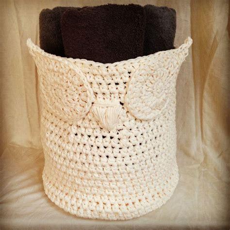 crochet owl basket 28 images crochet pattern owl basket crochet pattern crochet owl