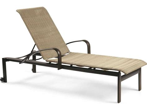 metal chaise lounge with wheels winston belvedere woven aluminum stackable chaise lounge
