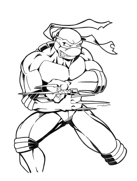 raphael ninja turtle coloring pages printable teenage mutant ninja turtles coloring page coloring home