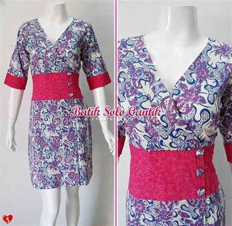 Baju Dress Murah Wanita Fahrani Dress model dress batik modern daniyanti