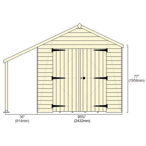 Shed Height Restrictions Uk by 14 X8 4 2x2 4m Shed Plus Chion Heavy Duty Workshop