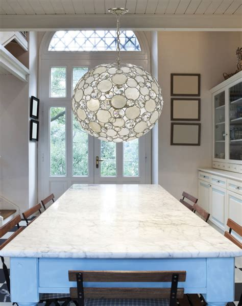 Modern Kitchen Chandelier Modern And Capiz Shell Pendant Chandelier