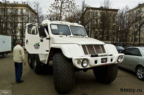 Masina Rossyifa masini road serioase pentru politia rusa autogreen