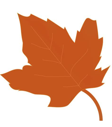 clipart autumn leaves orange autumn leaves clip cliparts